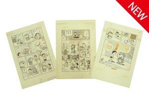 """Exhibition by School Grade"" Original Illustration Postcard Set (3)"